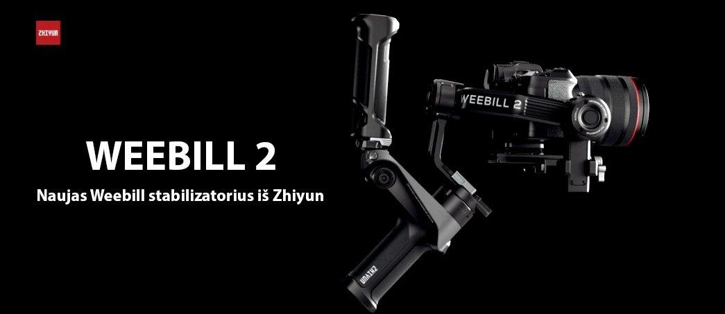 Naujas Weebill stabilizatorius iš Zhiyun
