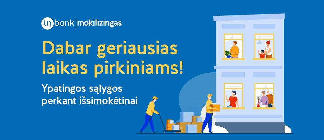 InBank - Ypatingos sąlygos perkant išsimokėtinai