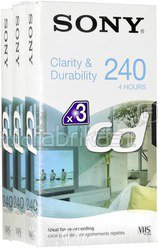 1x3 Sony E 240 CD