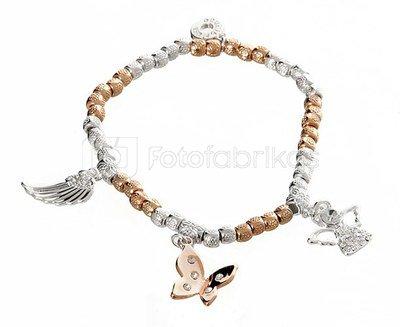Apyrankė Guardian Angel for you 274930 sidabro ir aukso spalvų