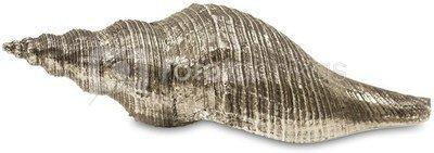Dekoratyvinis gaminys Kriauklė 8,5x30x11 cm 109645 sidabro spalv. polirezin. ddm