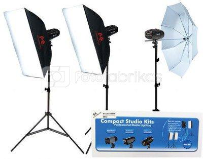 Falcon Eyes Studio Flash Set SSK-3200D with Bag with Trigger set