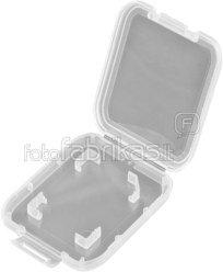 Hama SD-Card Box transparent 42344