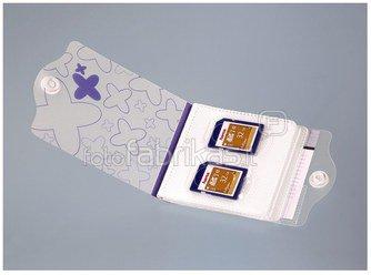 Hama Speicherkarten Mappe blau