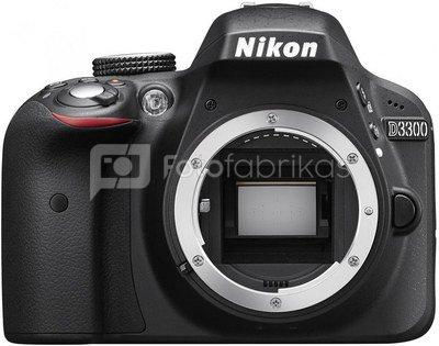 Nikon D3300 + 18-55mm AF-P VR