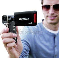 Vaizdo kamera Toshiba Camileo P100 juoda