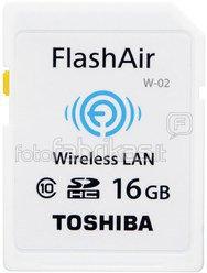Toshiba Wireless SDHC 16GB Flash Air Class 10