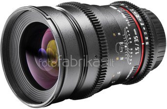 walimex pro 1,5/35 Wide Angle Lens VDSLR Canon