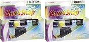 2x vienkartiniai fotoaparatai Fujifilm Quicksnap Flash 27