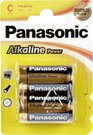 1x2 Panasonic Alkaline Power Baby C LR 14