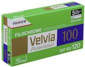 1x5 Fujifilm Velvia 100 120 New