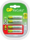 2x4 GP ReCyko+ Micro AAA NimH 800 mAH