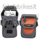 638-515 Krepšys foto ir vaizdo aparaturai juodas-oranžinis