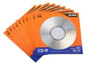 ACME CD-R 80/700MB 52X 10pack paper sleeves