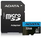 ADATA microSDHC UHS-I Class 10 32GB Premier with Adapter A1
