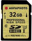 AgfaPhoto SDHC Card UHS I 32GB Professional High Spee U3 95/90