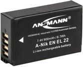 Ansmann A-NIK EN-EL22 900mAh 7,4V