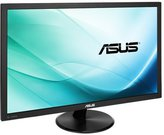 "ASUS VP247H 23.8"" WIDE LED LCD / Non-glare / 0.2715 / 1920x1080 / 100M:1/ 1ms / H=170 V=160 / 250cdq / HDMI / D-Sub / DVI-D / Speakers 1.5W x 2 Stereo RMS / VESA Wall Mounting / Tilt / Black"