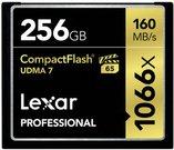 Lexar CF Card 256GB 1066x Professional UDMA7