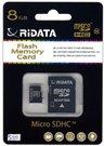 Atminties kortelė Ridata micro SDHC 8GB class10