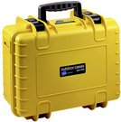 B&W Outdoor Case Type 4000/Y yellow with GoPro 4 Inlay