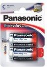 Baterijos Panasonic EVERYDAY LR14 - 2BP