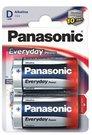 Baterijos Panasonic EVERYDAY LR20-2BP