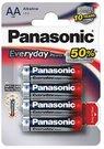 Baterijos Panasonic EVERYDAY LR6-4BP