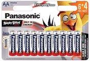 Baterijos Panasonic LR6 EPS 6+4BP Angry Birds