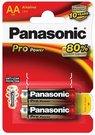 Baterijos Panasonic PRO Power LR6 - 2BP