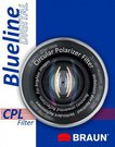 Braun Phototechnik Optical filter BRAUN Blueline CPL 58mm