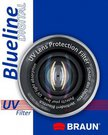 Braun Phototechnik Optical filter BRUAN Blueline UV 58mm