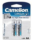 Camelion Lithium AA (FR06), 2-pack 1-pack maitinimo elementai