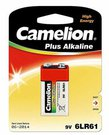 Camelion Plus Alkaline 9V Block (6LF22), 1-pack 1-pack maitinimo elementai