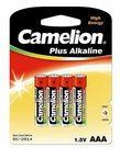 Camelion Plus Alkaline AAA (LR03), 4-pack 1-pack maitinimo elementai