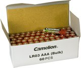 Camelion Plus Alkaline AAA (LR03), 60-pcs box, Bulk