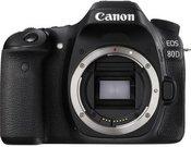 Canon EOS 80D be objektyvo