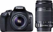 Canon EOS 1300D + 18-55 + 55-250mm