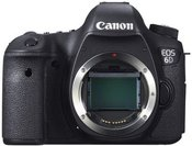 Canon EOS 6D be objektyvo