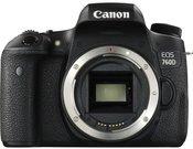 Canon EOS 760D be objektyvo
