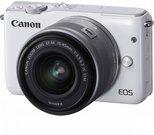 Canon EOS M10 Kit white + EF-M 15-45