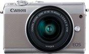 Canon EOS M100 Kit grey + EF-M 15-45