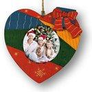 Kalėdinis suvenyras L233 (širdelė)