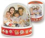 Kalėdinis suvenyras burbulas su sniegu PG 240S