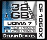 DELKIN 32GB CF 1050X - 160MB/S READ, 120MB/S WRITE