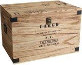 """Dėžė medinė """"Cargo"""" H:34 W:51 D:34 cm HM1102"""