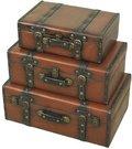 Dėžės-lagaminai 3 vmt 39x58x23, 32,5x52,5x19, 29x42x15 cm 97123