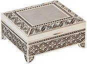Dėžutė metalinė su kojelėmis H:4 W:7 D:8 cm 15287