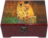 Dėžutė papuošalams grojanti 95669 Klimt. Bučinys
