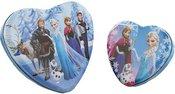 Dėžutės 2 vnt širdelės formos metalinės Disney motyvais H:5 W:17 D:16 cm DI245